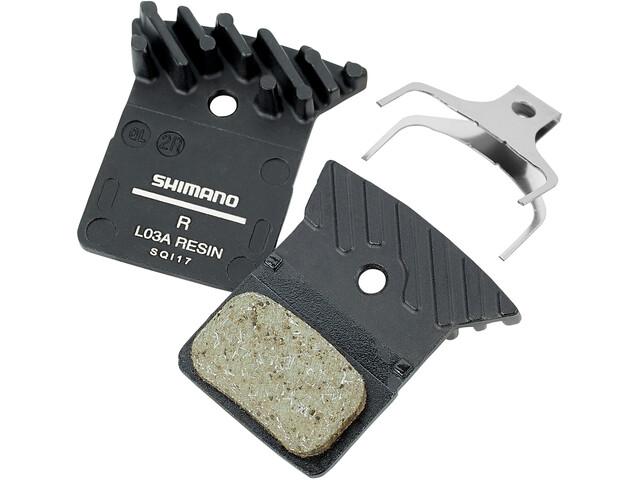 Shimano L03A Plaquettes de frein à disque Shimano BR, silver